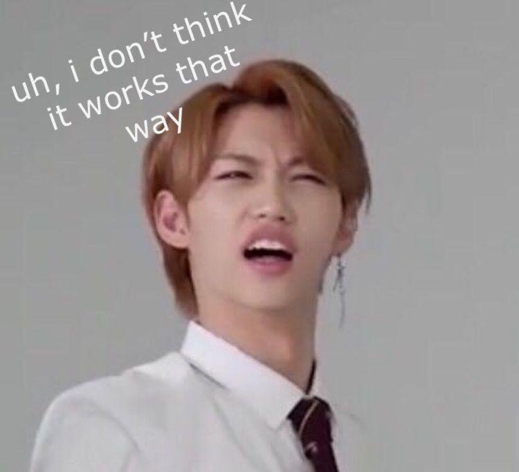I Dont Think So Kid Memes Meme Faces Funny Kpop Memes