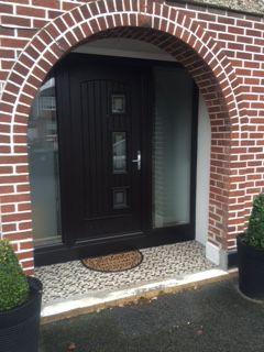 Palladio Turner Door in Bog Oak & Palladio Composite \