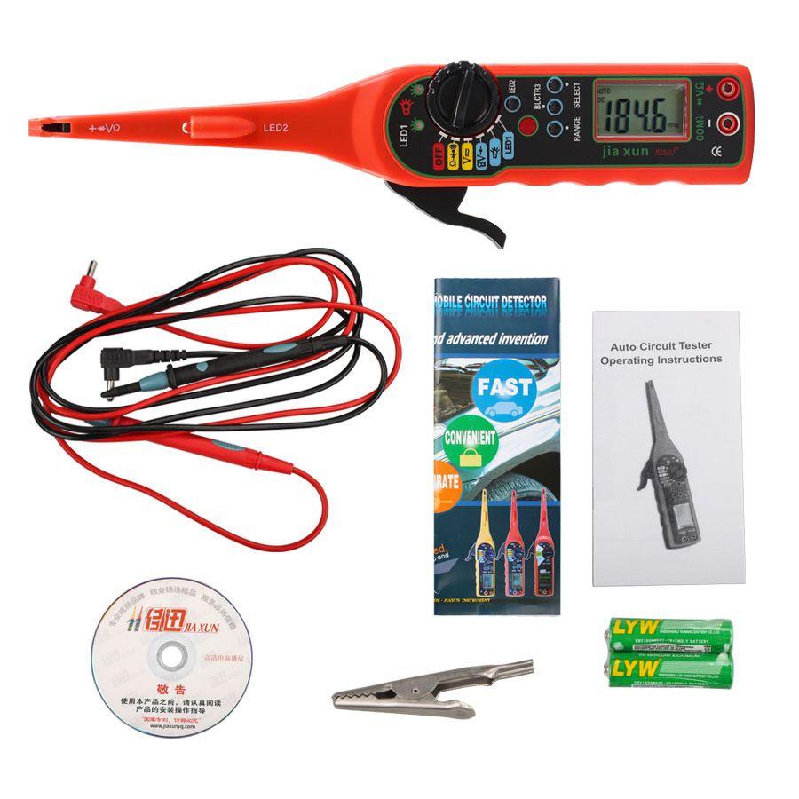jia xun ms8211 auto circuit tester pen jia xun ms8211 digital rh pinterest ca