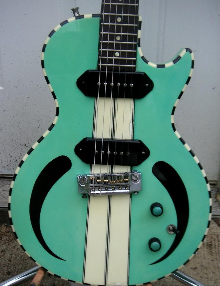 Rick Vito Prototype for Reverend Guitars