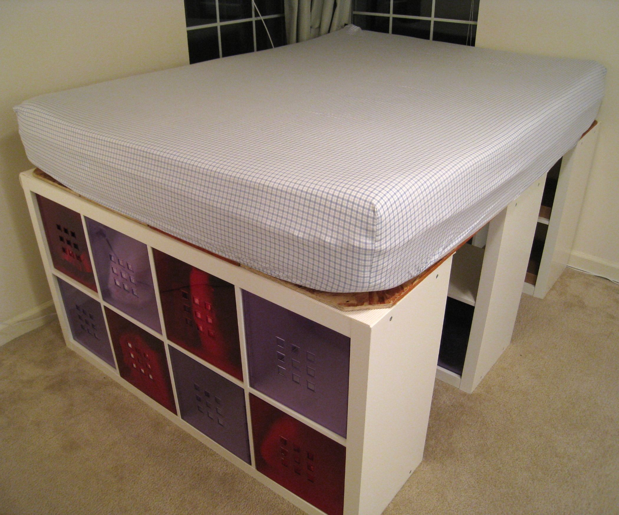 Storage. Mesmerizing Storage Bed Frame Plans Low Profile
