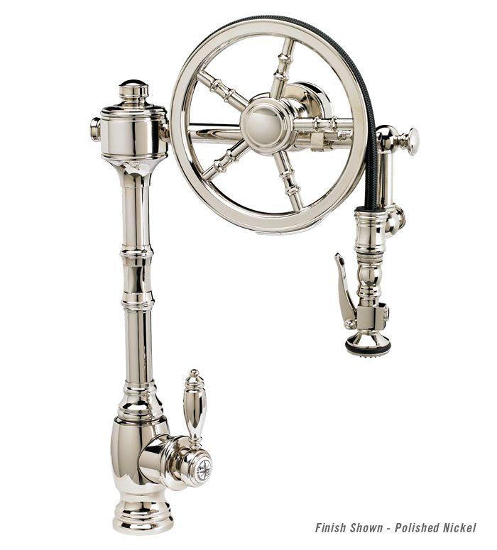 Waterstone Wheel Pulldown Kitchen Faucet 5100