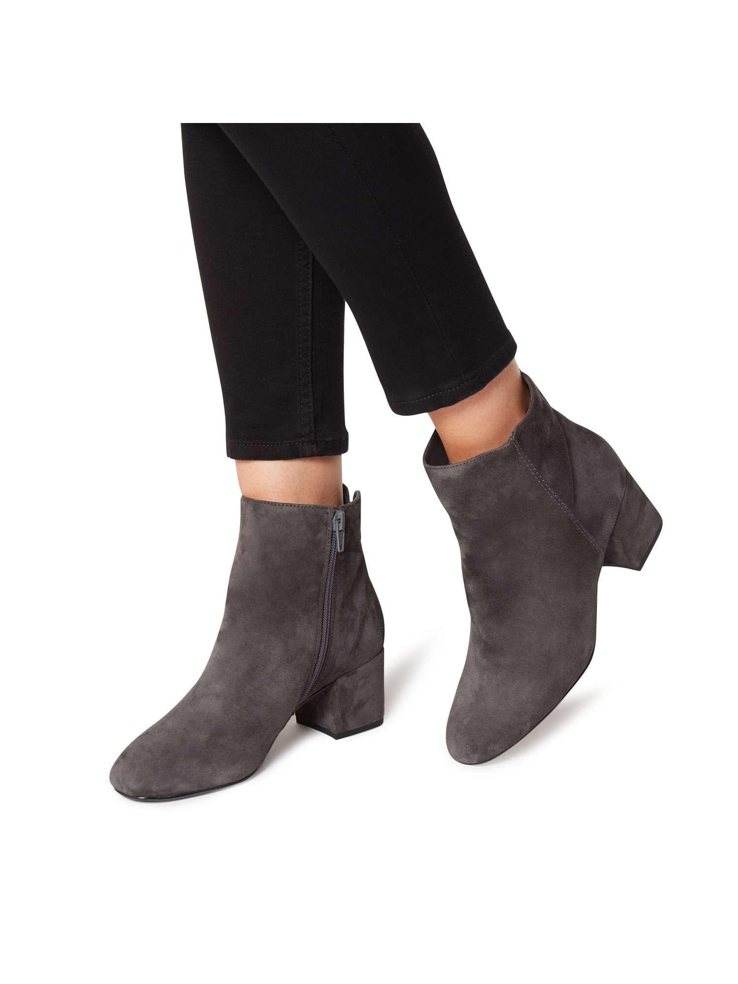 85d65be5146 Dune Olyvea Mid Block Heel Ankle Boots - House of Fraser ...