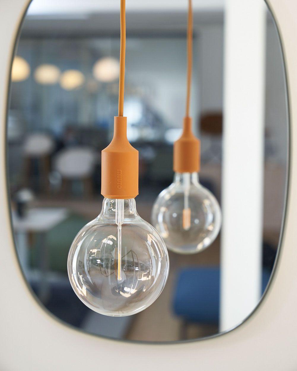 Scandinavian Lighting Home Accessories Interior Inspiration From Muuto Industrial Design Meets Scandinavian Simplicity Pendant Lamp Lamp Scandinavian Lighting