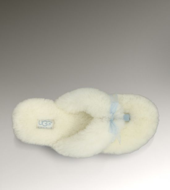 Fluff Flip Flop I do! While I abhor the rest of the bridal Ugg collection, how cute would these be to get ready in??