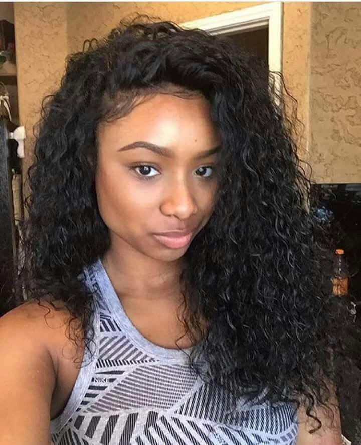 Brazilian Curly Texture Is Great For A More Natural Looking Weave
