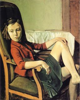 Balthus (Balthasar Klossowski de Rola), Therese  1938  oil on cardboard mounted on wood