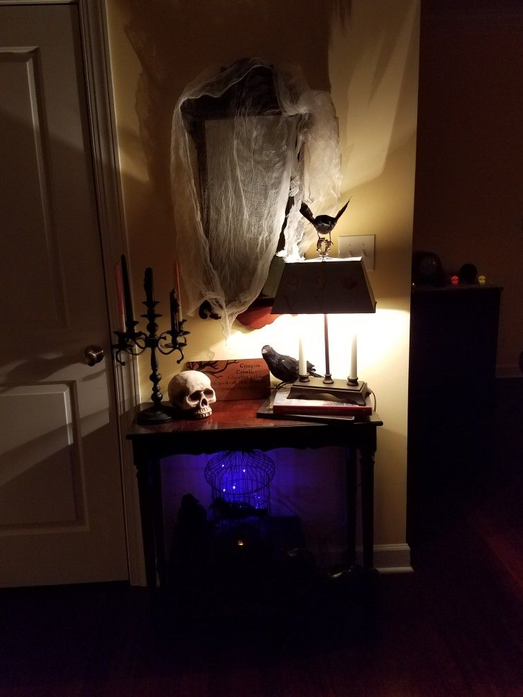 Pin by kr_1776 on Halloween Pinterest Halloween house, Halloween - decorating for halloween party