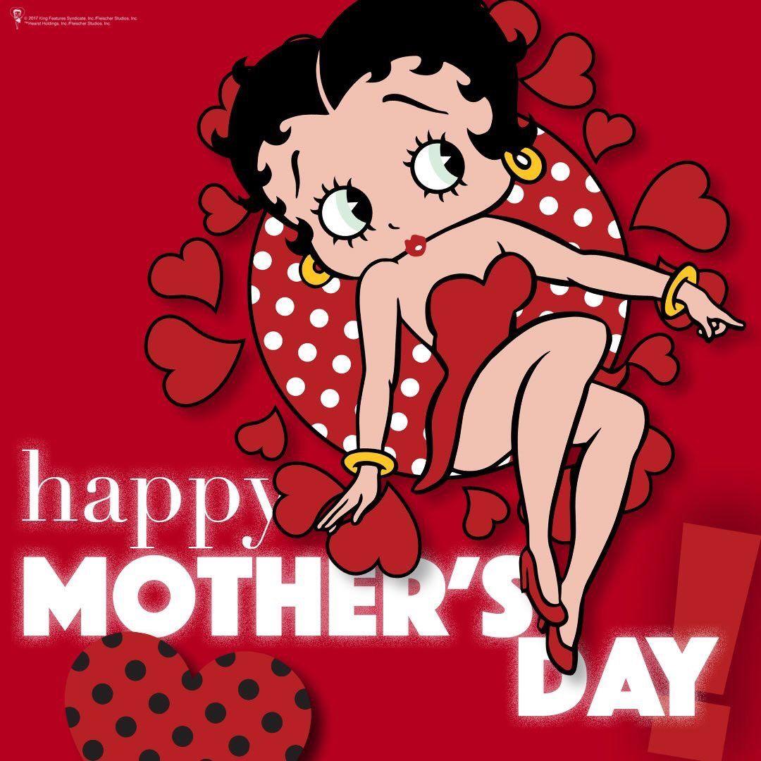 Happy Mother's Day Betty boop, Betty boop birthday