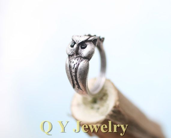 cute finger punk for retro boho mid women fnger wedding chic rings ring animal squirrel p vintage hippie c