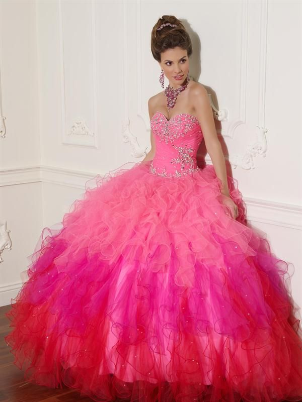 vestidos de 15 cortos color rosado | vestidos de xv años color rosa ...