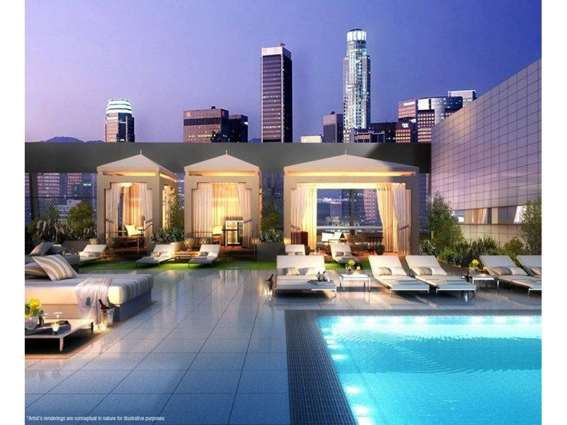 Ritz Carlton Residences, L.A. Live, Olympic And Figueroa