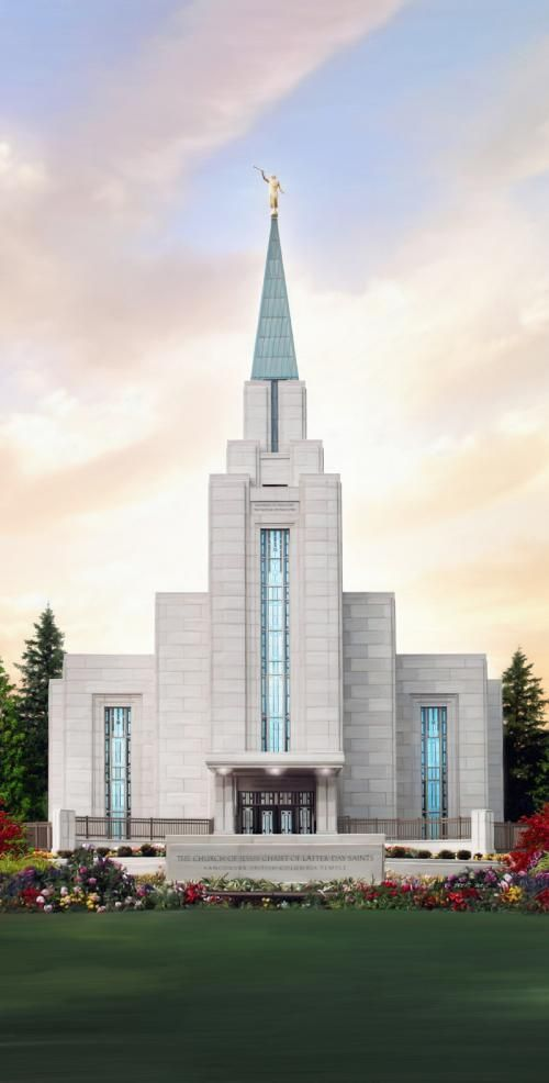 Vancouver British Columbia Temple ...