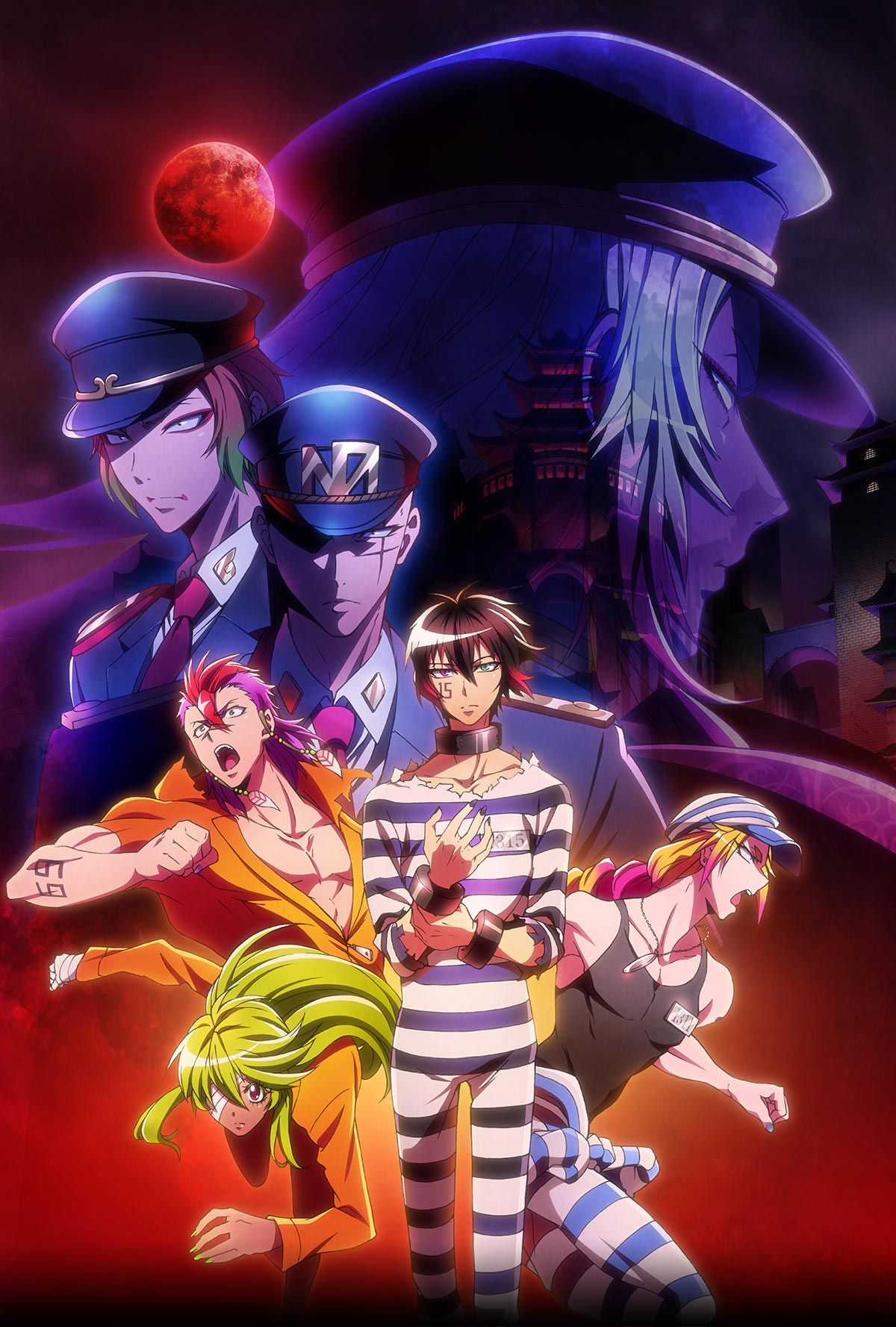 "TV anime ""Nambaka"" official website. Nanbaka 2017 最大最強の刑務"