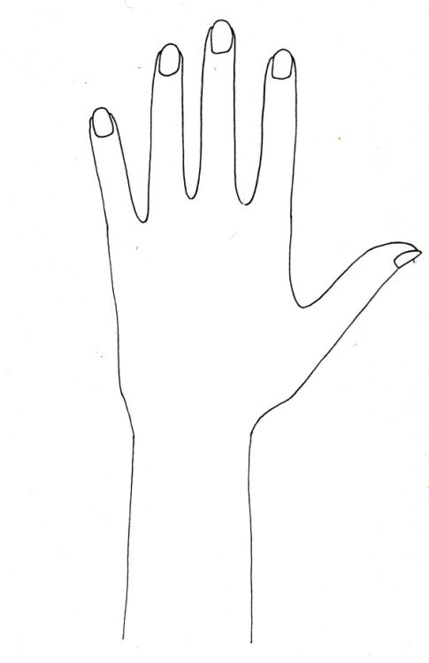 mehndi print out hand shape - Google Search | Henna | Pinterest ...