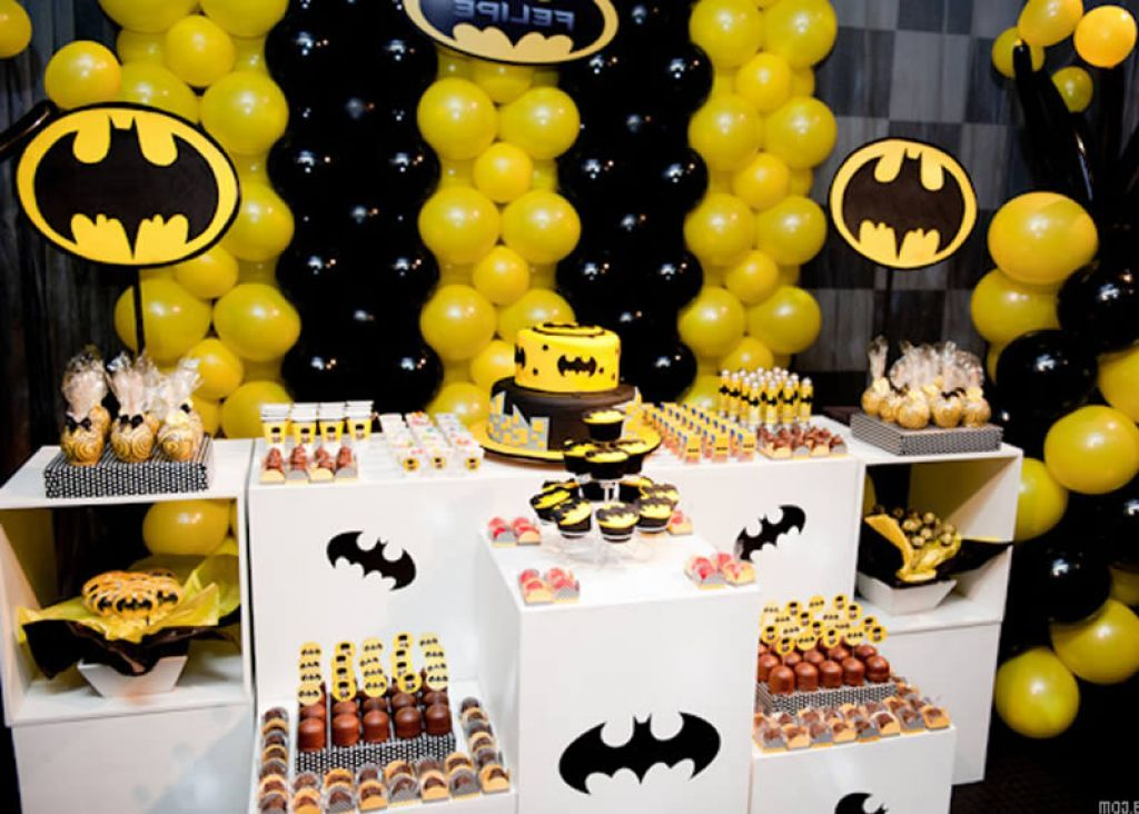 Related posts of Latest Decoration Ideas For Batman Party Batman