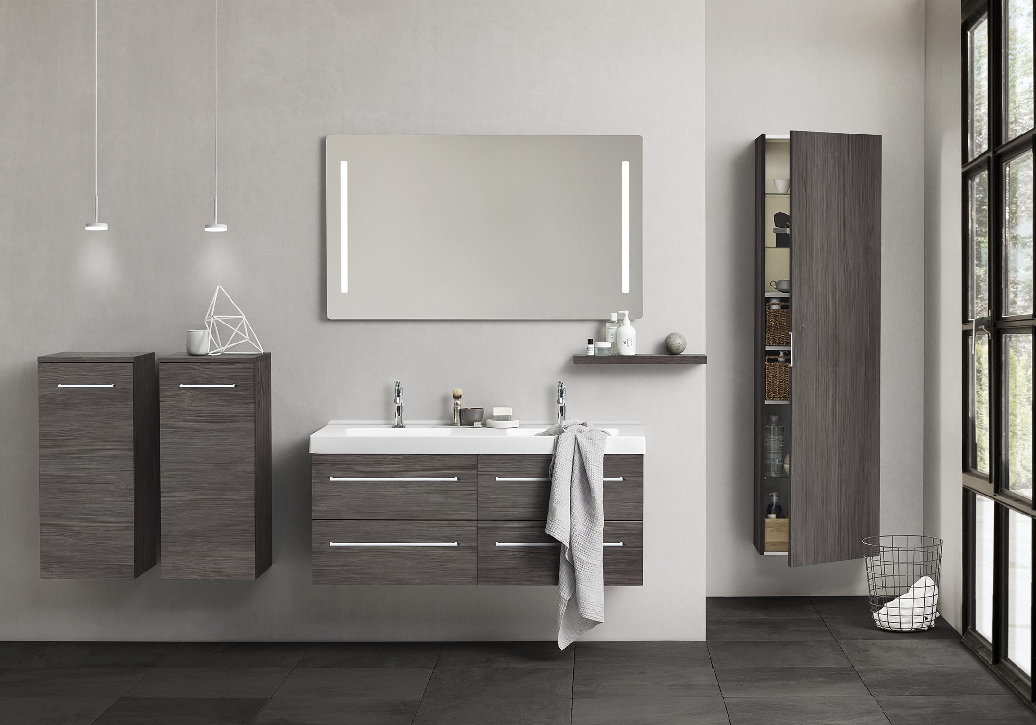 The Modular Thinking Behind Dansani Luna Opens For Arrangement Possibilities Bathroom Furniture Bathroom