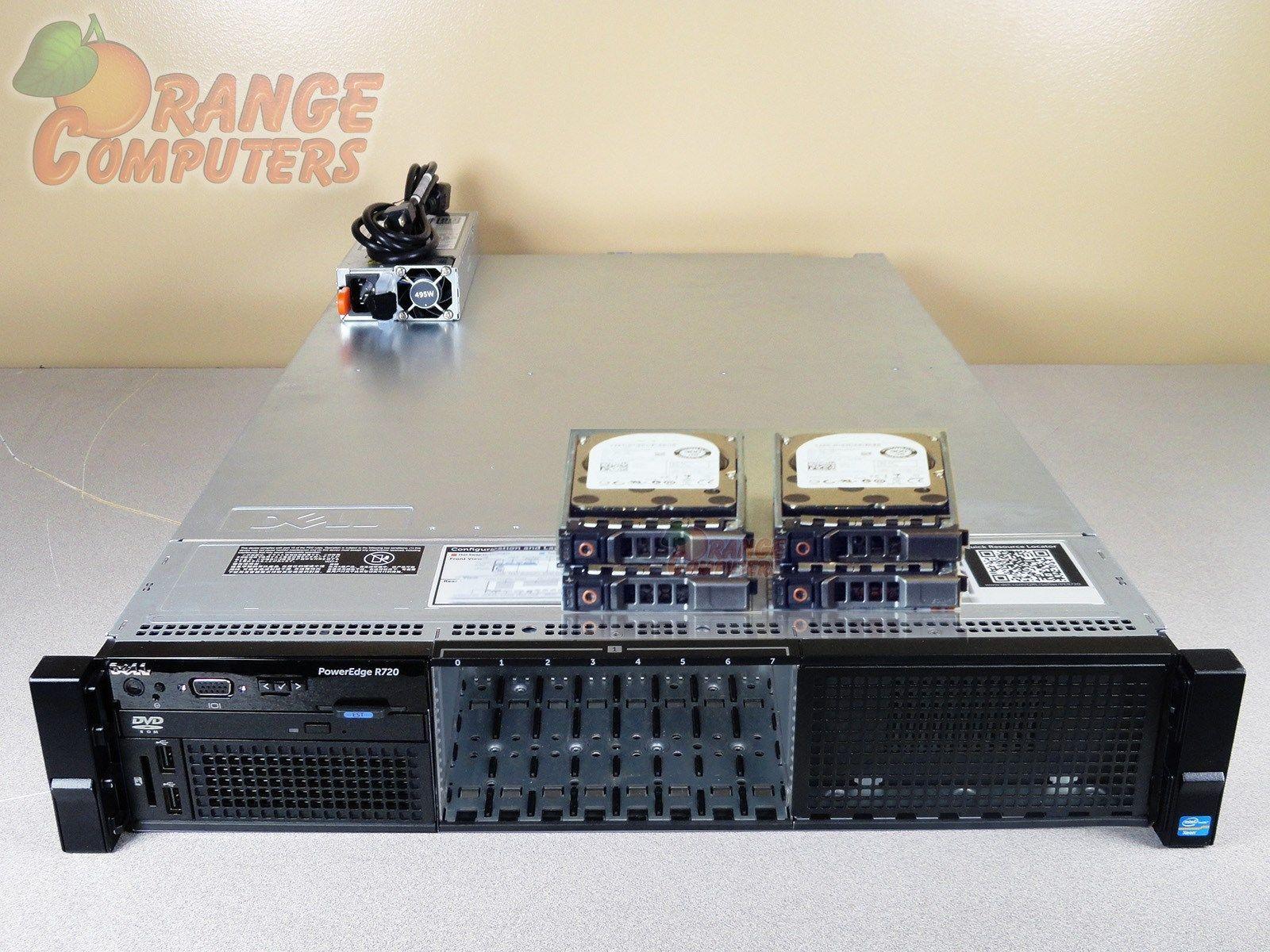 "New Dell PowerEdge R720 146GB 15K SAS 6G 2.5/"" Hard Drive 1 Year Warranty"