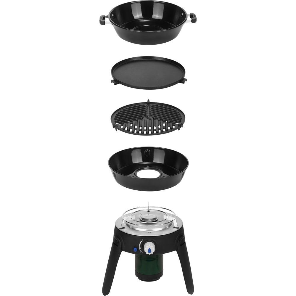 Cadac Safari Chef 2 Portable Propane Gas Grill In Black Propane Gas Grill Gas Grill Reviews Portable Grill