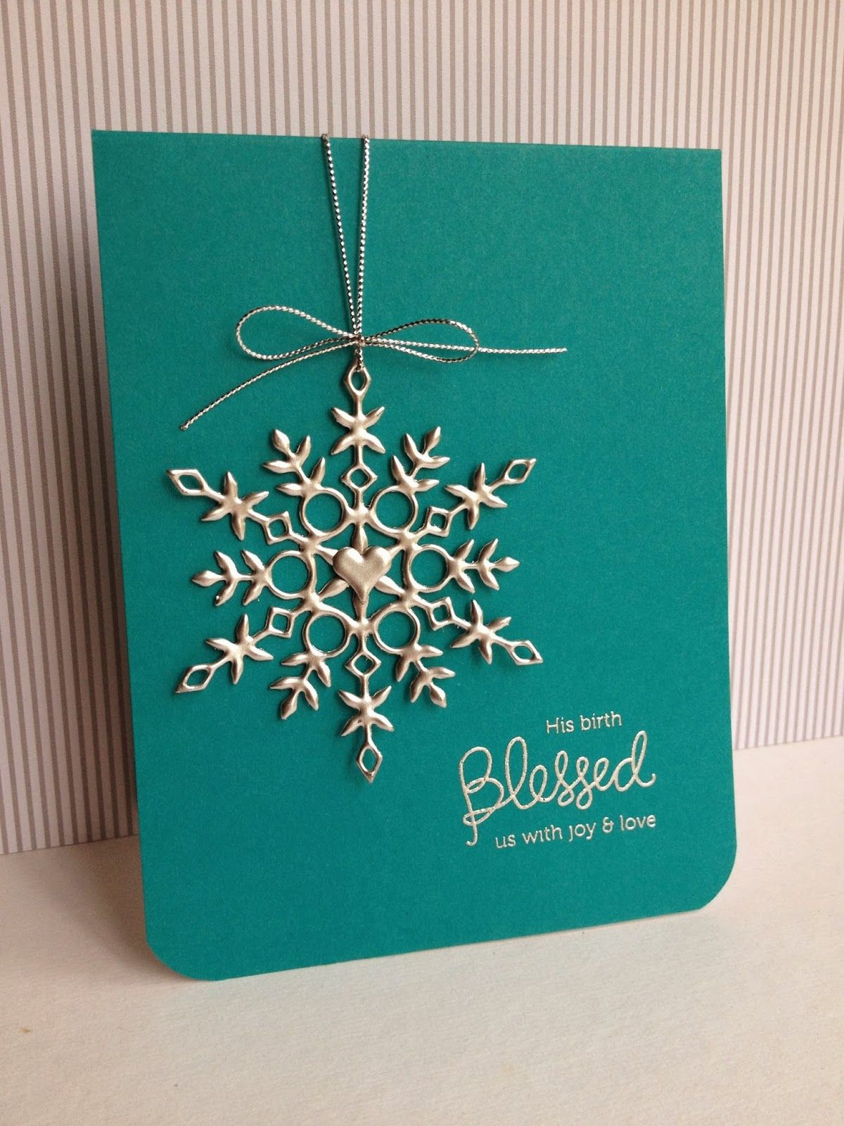 I\'m in Haven: Silver Snowflakes   Christmas Cards   Pinterest ...