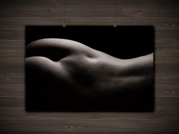 Fine Art Nude Print, Bodyscape Photo, Erotic Photography, Sensual ...