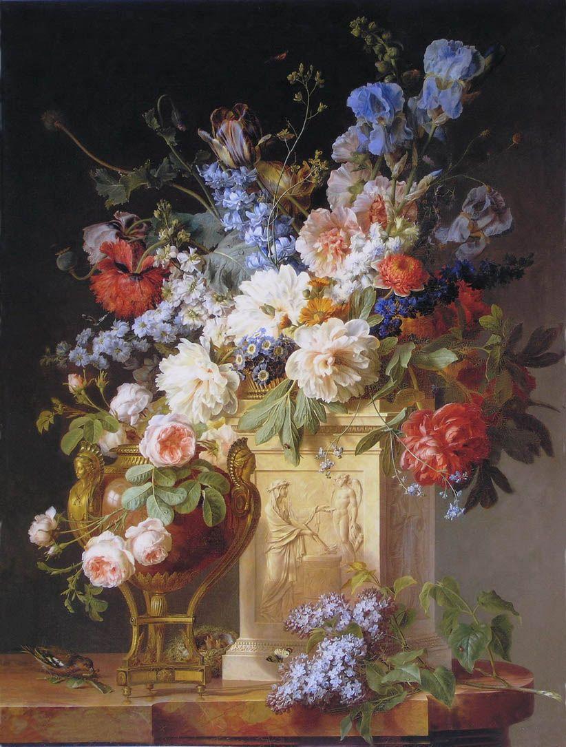 Cornelis Van Spaendonck 1756 1840 822 215 1085 Still Life 19th Century First Half In 2019