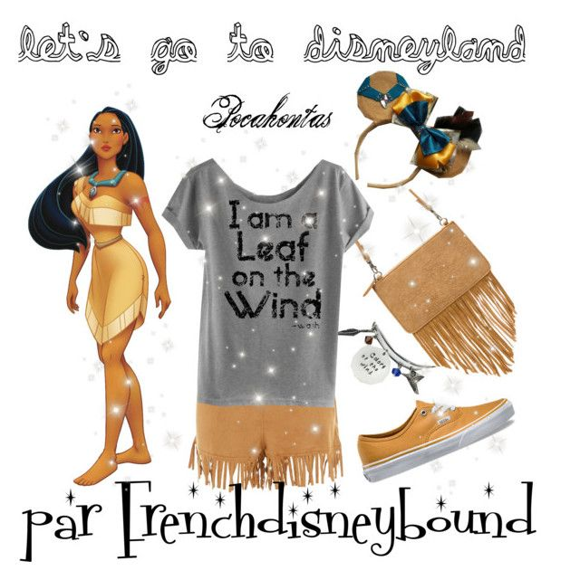 """Pocahontas (Pocahontas)"" by frenchdisneybound ❤ liked on Polyvore featuring New Look, Vans, disney, pocahontas and disneybound"