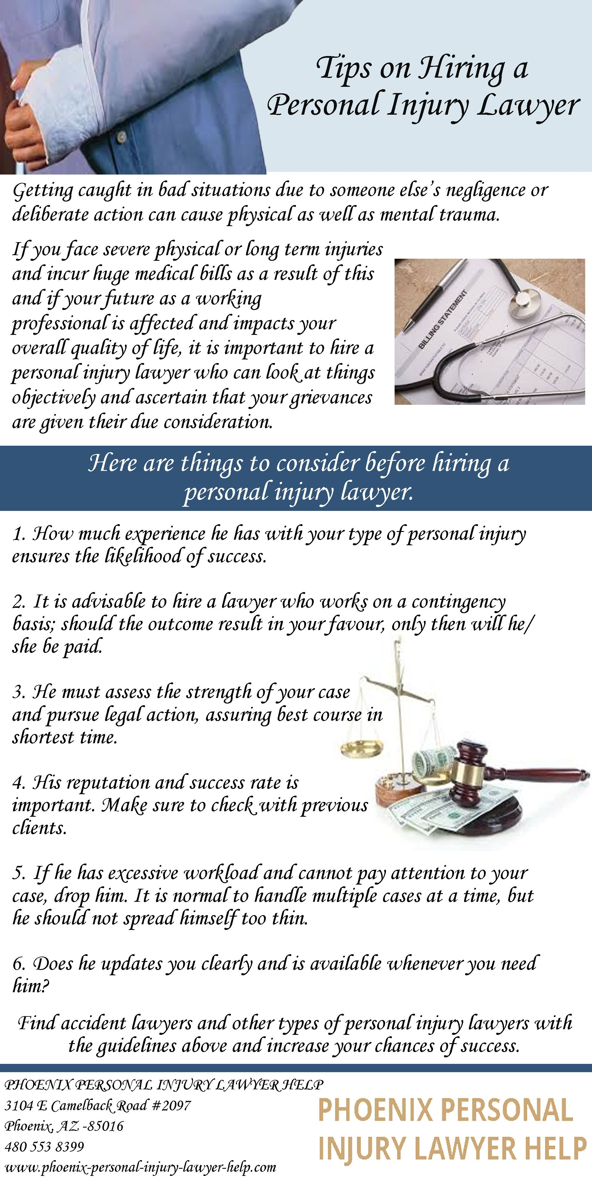 If You Face Severe Physical Or Long Term Injuries And Incur Huge