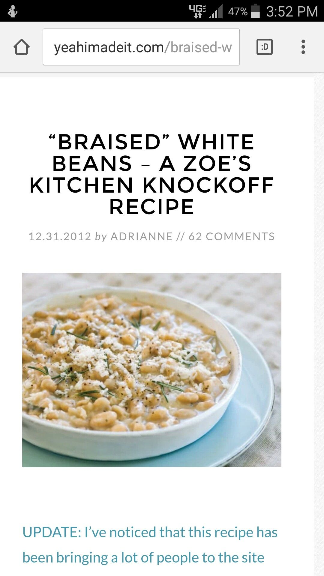 http://yeahimadeit.com/braised-white-beans-a-zoes-kitchen-knockoff ...