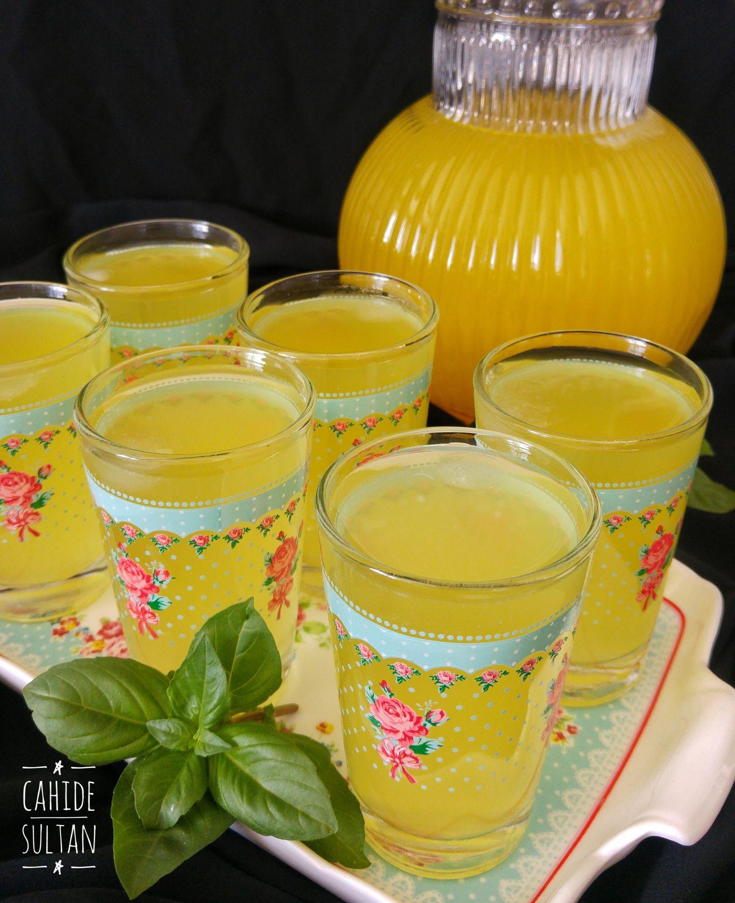 Zencefilli Limonata #lemonade