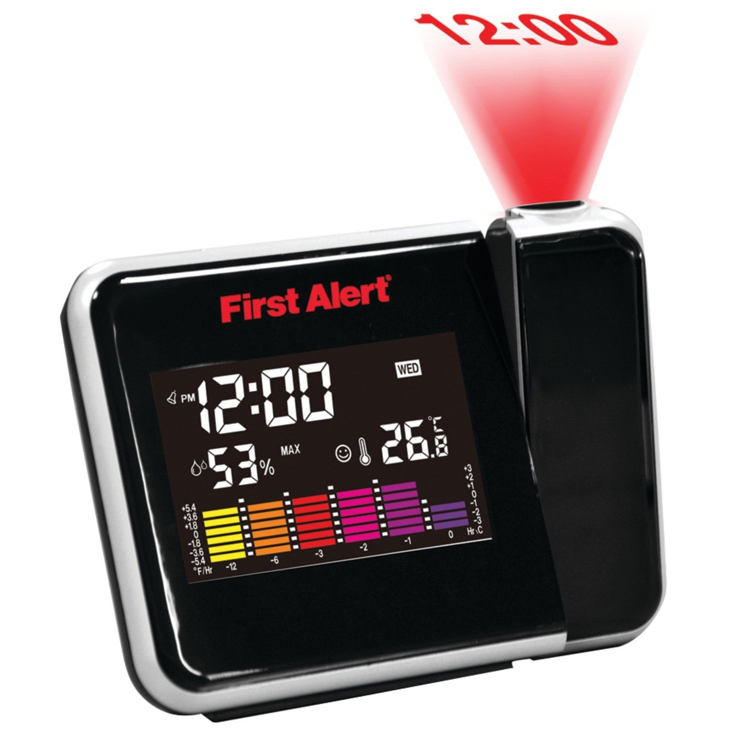 Weather Station Projection Alarm Clock Products Pinterest