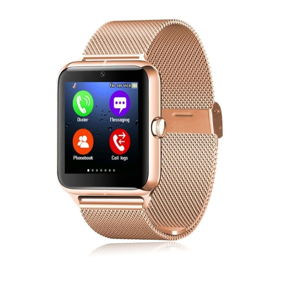 b01ff32daad Luxury Bluetooth Smart Watch GSM Phone for Men Women Samsung Motorola LG  HTC ZTE