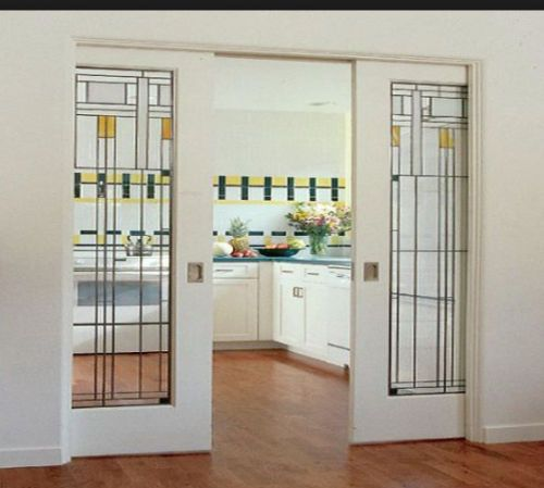 Interior Stained Glass Pocket Doors Wow In 2018 Beaver Pond