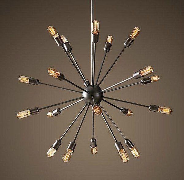 Edison bulb chandelier design ideas sputnik chandelier mid century edison bulb chandelier design ideas sputnik chandelier mid century moder decor mozeypictures Images