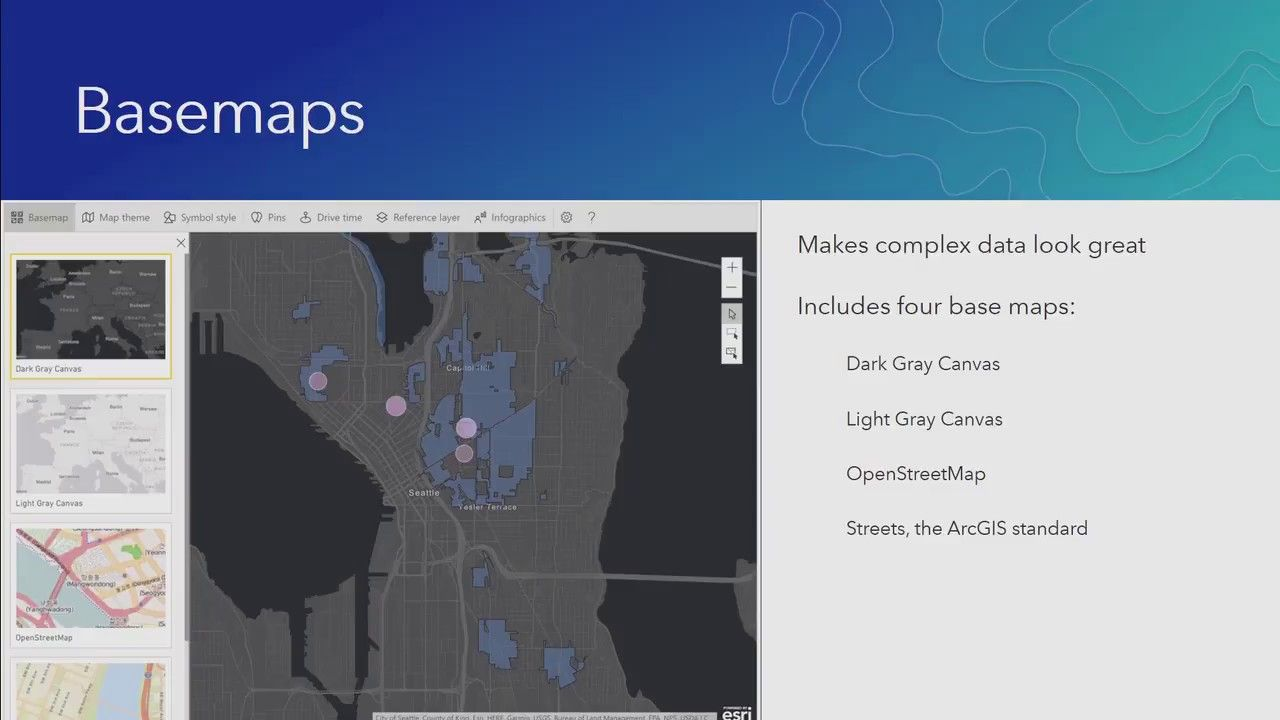 Arcgis Maps For Microsoft Power Bi An Introduction Map