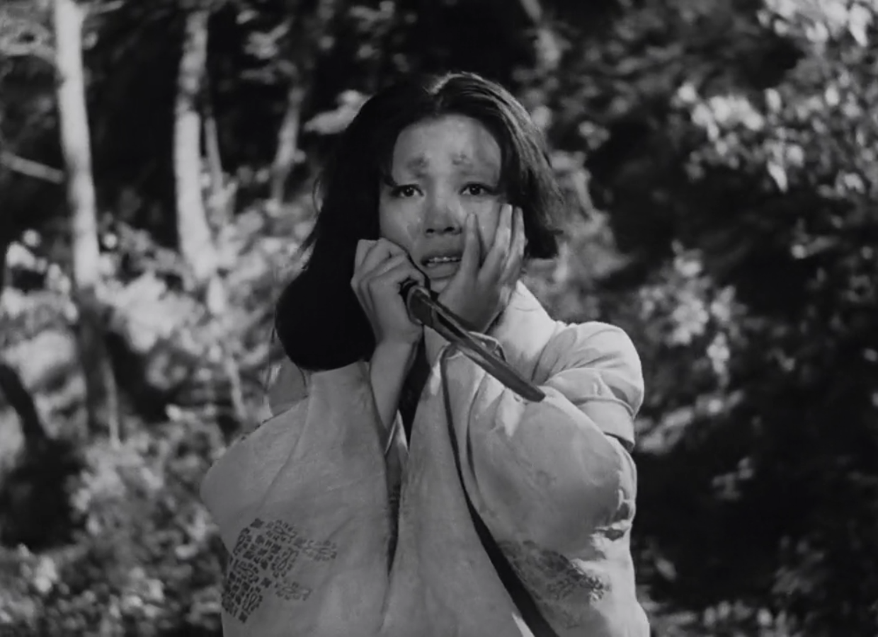 Machiko Kyô in Rashomon