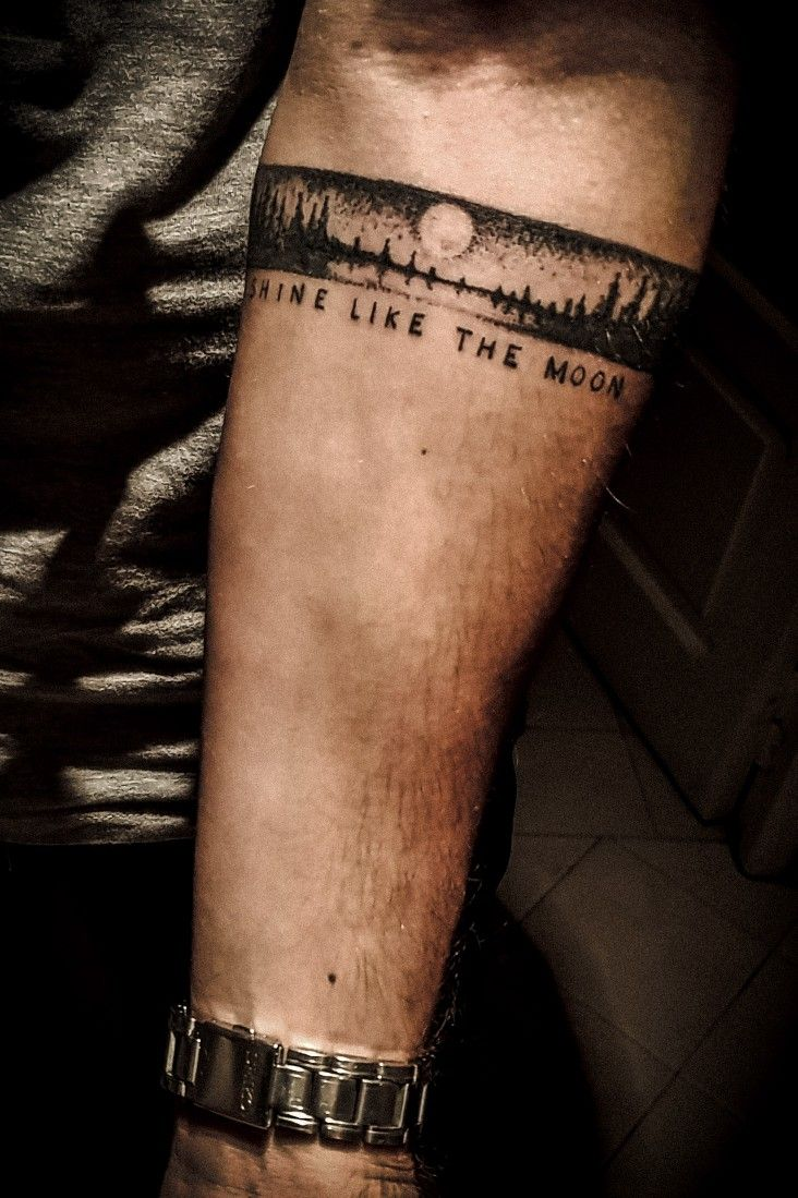 Shinelikethemoon Band Tattoo Arm Band Tattoo Band Tattoo Designs