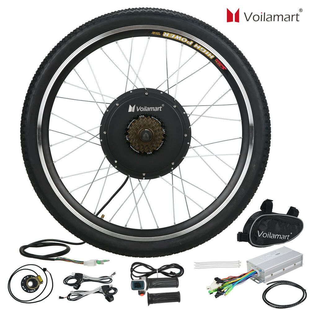Sponsored Ebay 26 Electric Bike Rear Wheel Bicycle Conversion