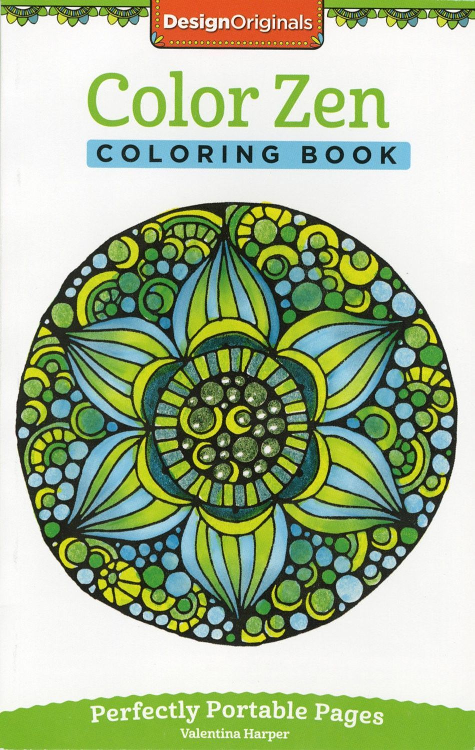 Design Originals Color Zen Perfectly Portable Adult Coloring and ...
