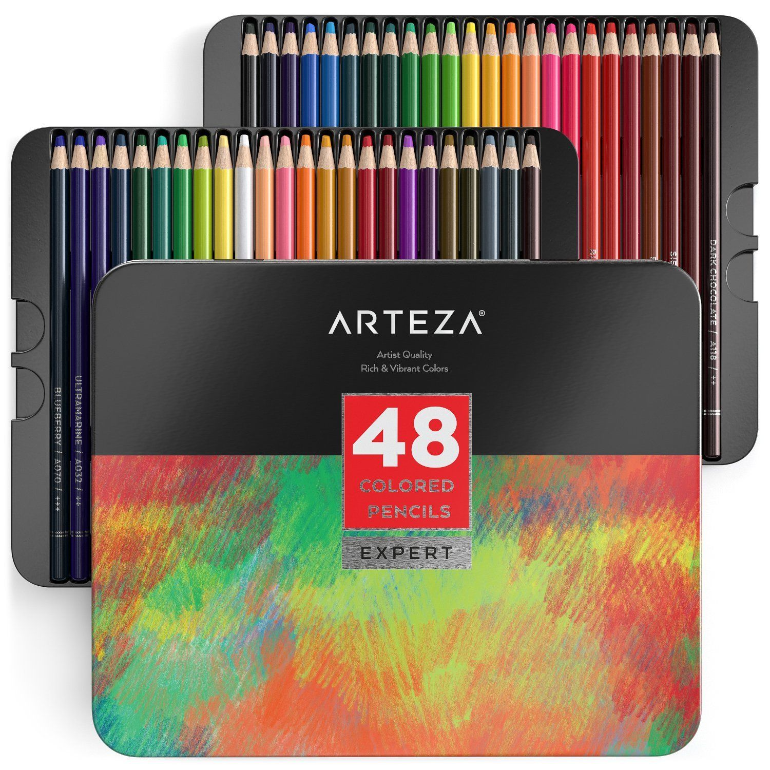 Amazon 48 Colored Pencils Set Of 48 Colors With Deal 12 15 Reg