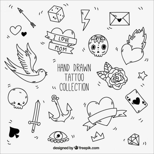 Tatuajes Minimalistas Para Imprimir
