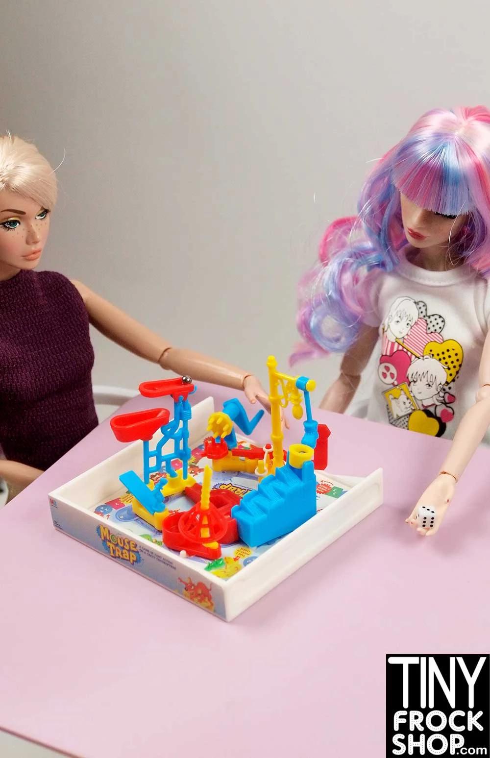 Barbie Milton Bradley Mini Mouse Trap Game #mousetrap Tiny Frock Shop Barbie Milton Bradley Mini Mouse Trap Game #mousetrap