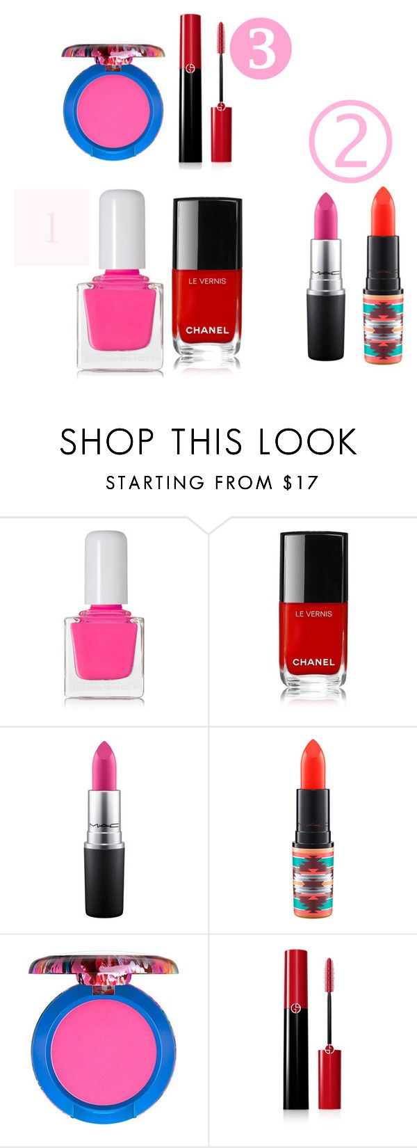"""""""Untitled #710"""" by dairyqueen55 ❤ liked on Polyvore featuring beauty, tenoverten, MAC Cosmetics, Giorgio Armani, Beauty and twoways"""