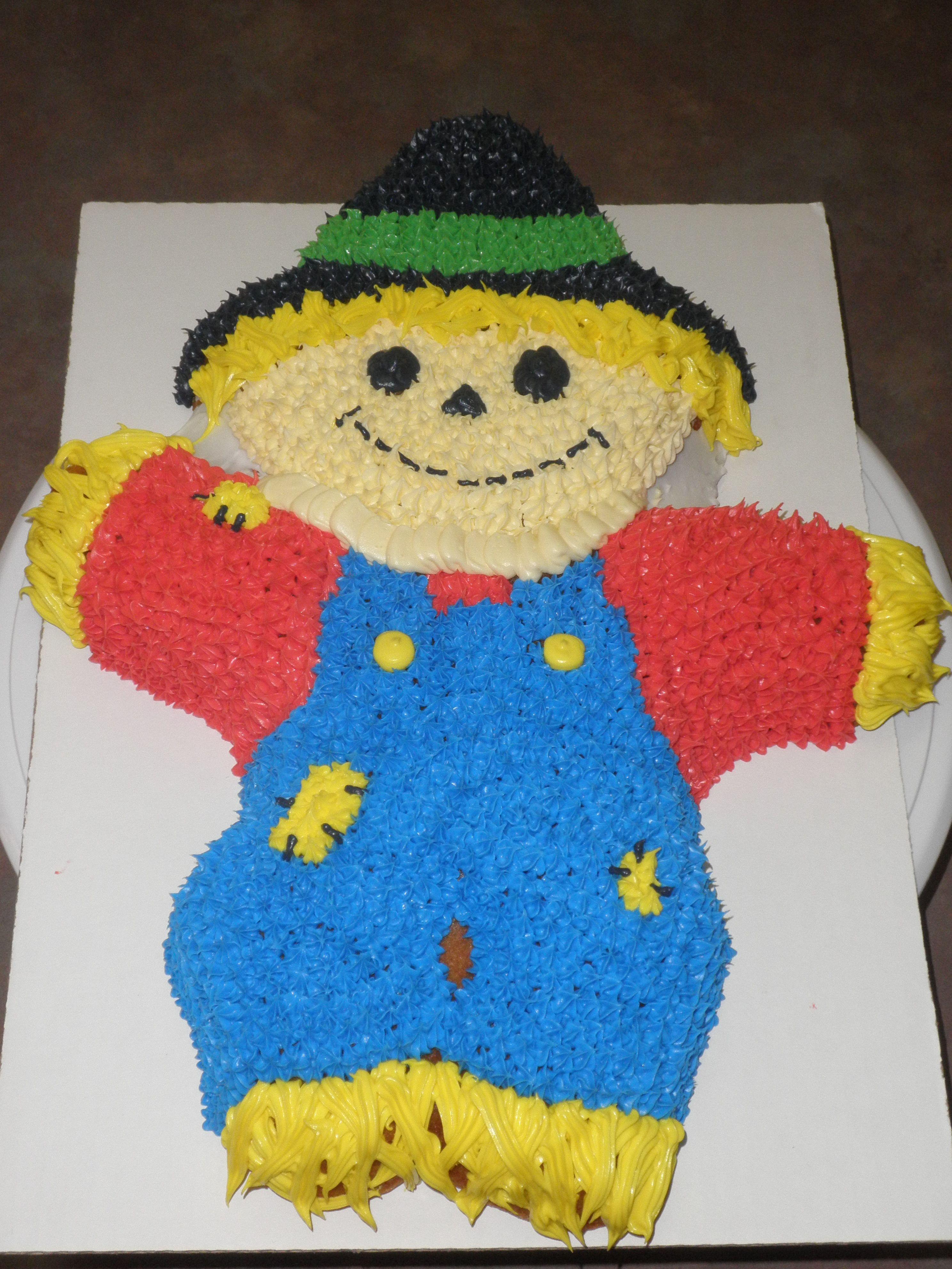 My Scarecrow cake!