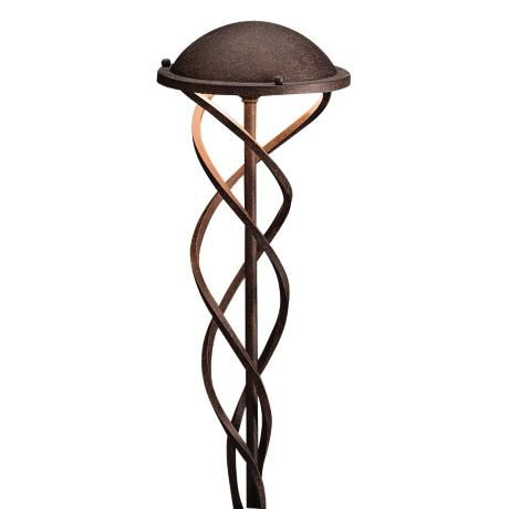 Kichler Tannery Bronze Swirl Landscape Path Light 87543 Lamps Plus Outdoor Path Lighting Path Lights Lamps Plus