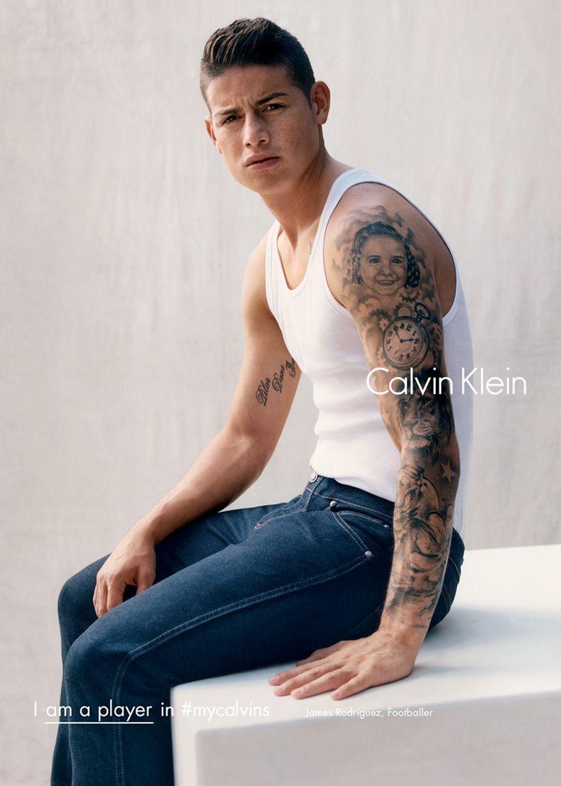 Calvin Klein Fallwinter 2016 Campaign James Rodríguez James
