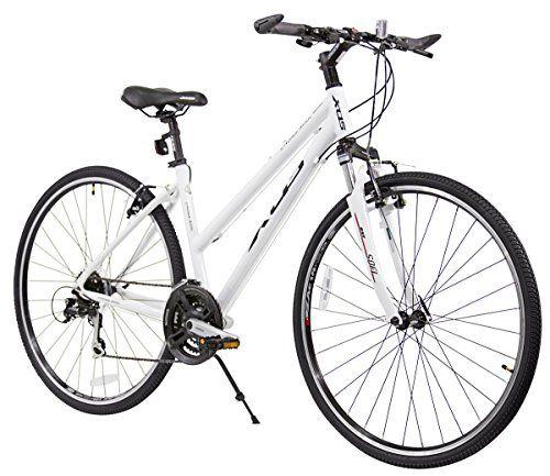 Xds Women S Cross 300 24 Speed Hybrid Bike White Xds Bikes Co