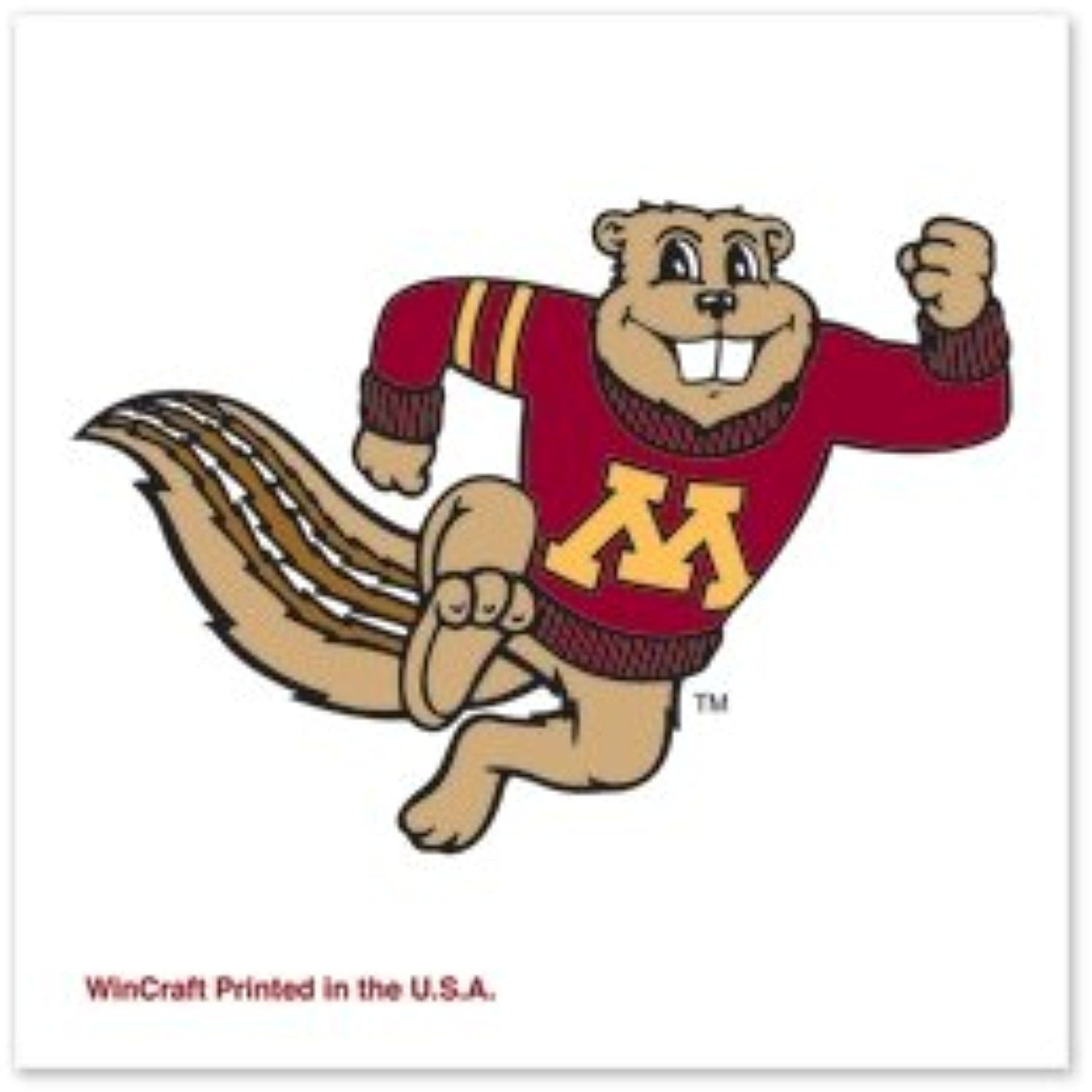 Minnesota Golden Gophers Official Ncaa 1 X1 Fake Tattoos By Wincraft Details Can Be Found By Clic Minnesota Gophers Minnesota Golden Gophers Gopher Football
