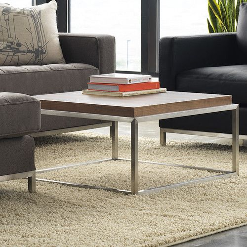 Gus Modern Square Drake Coffee Table Reviews Wayfair For The - Drake coffee table