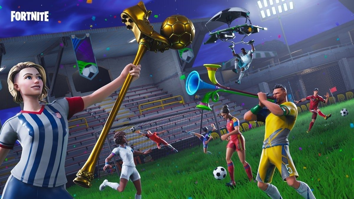 Soccer Skin Fortnite Logo Fortnite Item Shop Adds Customizable Soccer Skins Jpeg Di 2020